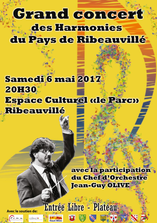 Grand Concert des Harmonies du Pays de Ribeauvillé